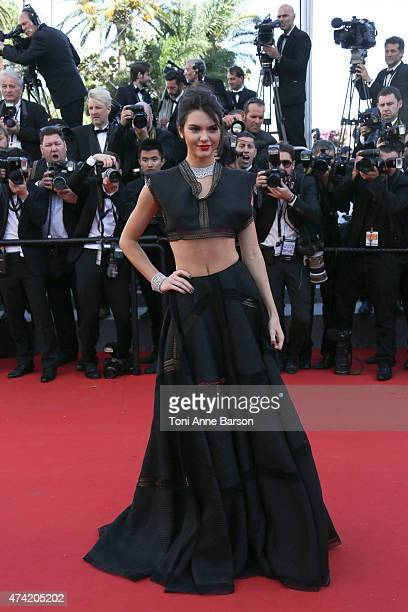 Kendall Jenner attends the 'Youth' premiere during the 68th annual Cannes Film Festival on May 20 2015 in Cannes France