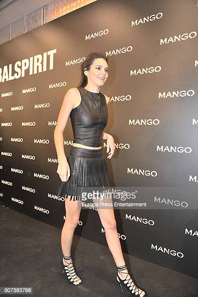 Kendall Jenner attends 'Tribal Spirit' by Mango on January 28 2016 in Barcelona Spain