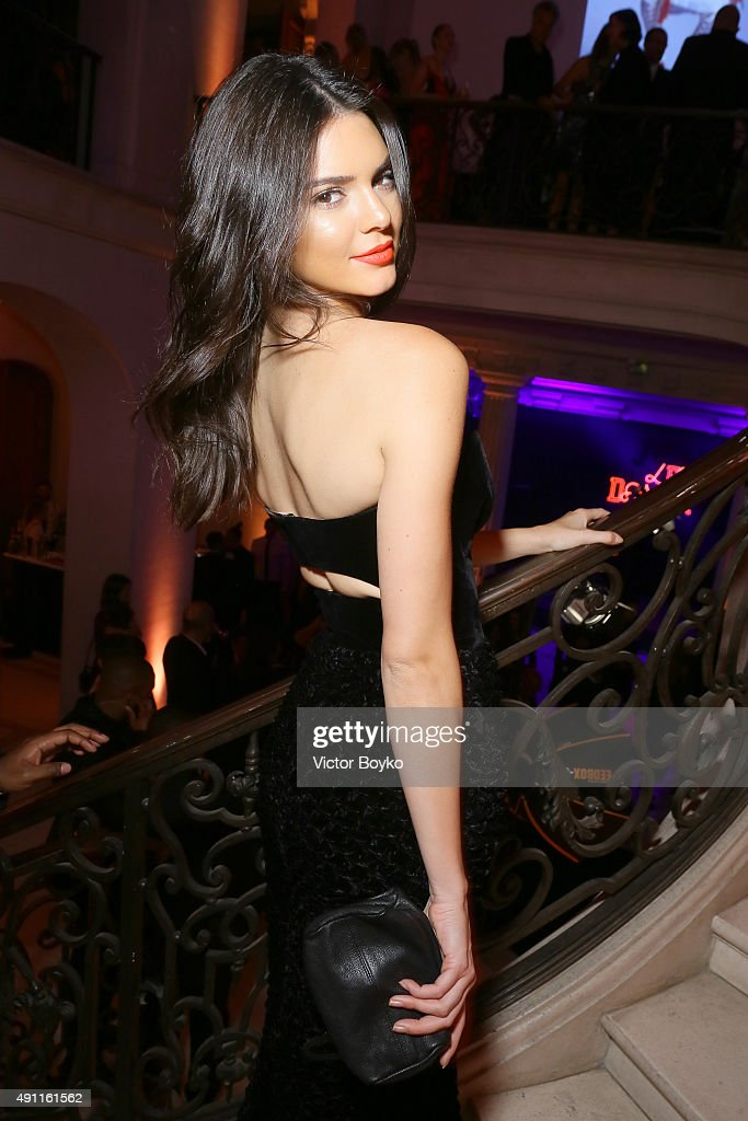<a gi-track='captionPersonalityLinkClicked' href=/galleries/search?phrase=Kendall+Jenner&family=editorial&specificpeople=2786662 ng-click='$event.stopPropagation()'>Kendall Jenner</a> attends Vogue 95th Anniversary Party on October 3, 2015 in Paris, France.