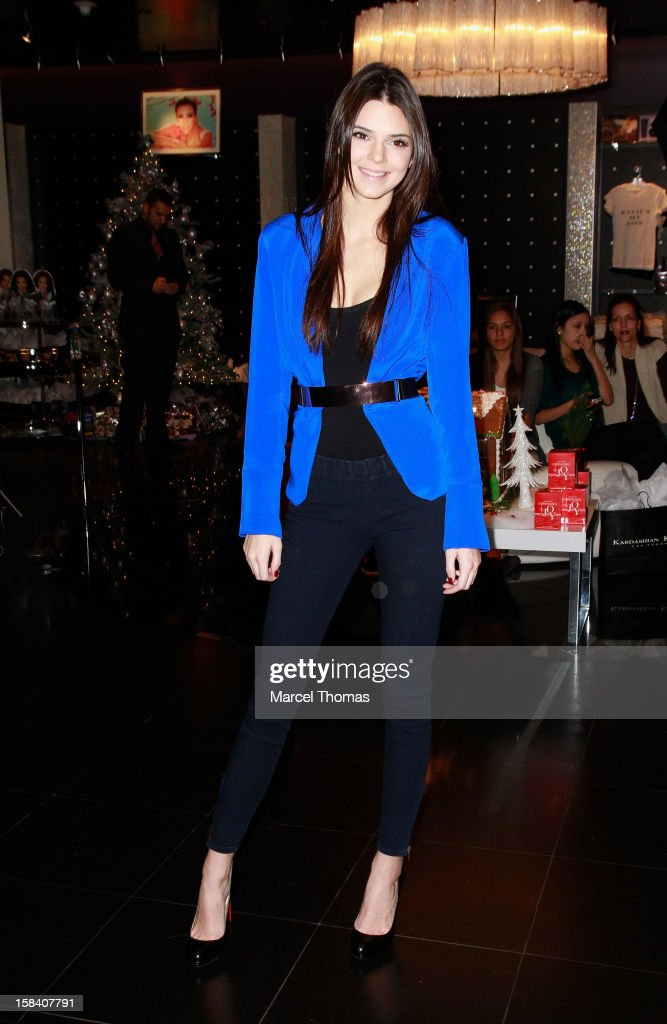 Kendall Jenner hosts a meet and greet with fans at Kardashian Khaos store inside Mirage Resort and Casino on December 15, 2012 in Las Vegas, Nevada.