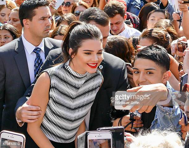 Kendall Jenner is seen in Los Angeles on June 03 2015 in Los Angeles California