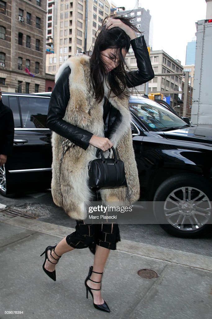<a gi-track='captionPersonalityLinkClicked' href=/galleries/search?phrase=Kendall+Jenner&family=editorial&specificpeople=2786662 ng-click='$event.stopPropagation()'>Kendall Jenner</a> is seen on February 11, 2016 in New York City.