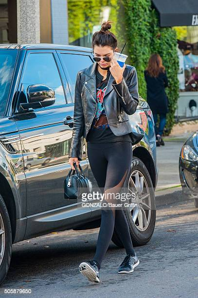Kendall Jenner is seen on January 20 2016 in Los Angeles California