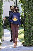 Celebrity Sightings In Los Angeles - January 20, 2021