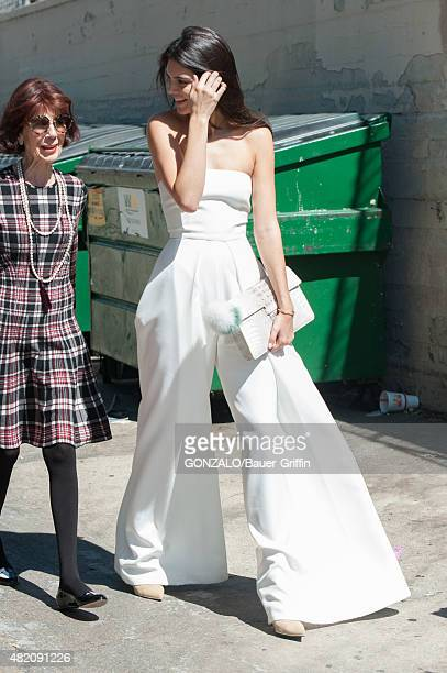 Kendall Jenner is seen on July 26 2015 in Los Angeles California