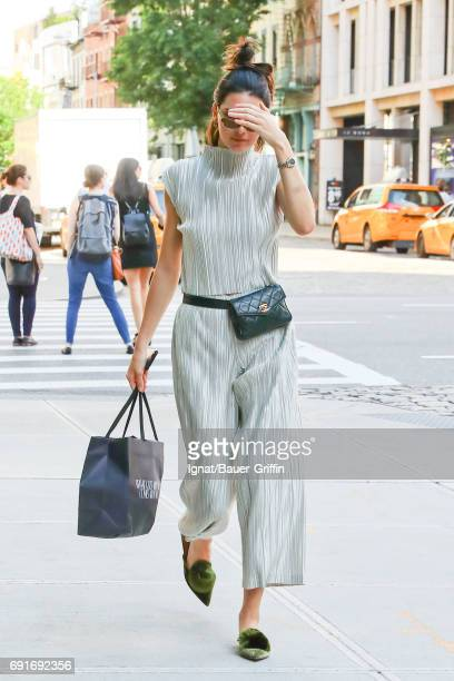 Kendall Jenner is seen on June 02 2017 in New York City