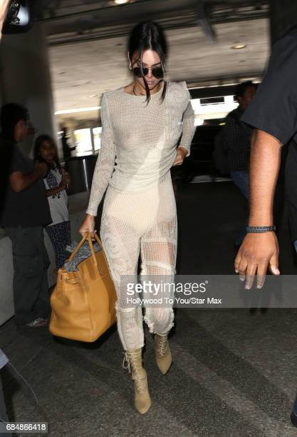 Kendall Jenner is seen on May 18 2017 in Los Angeles CA