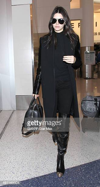 Kendall Jenner is seen on November 14 2015 in Los Angeles California