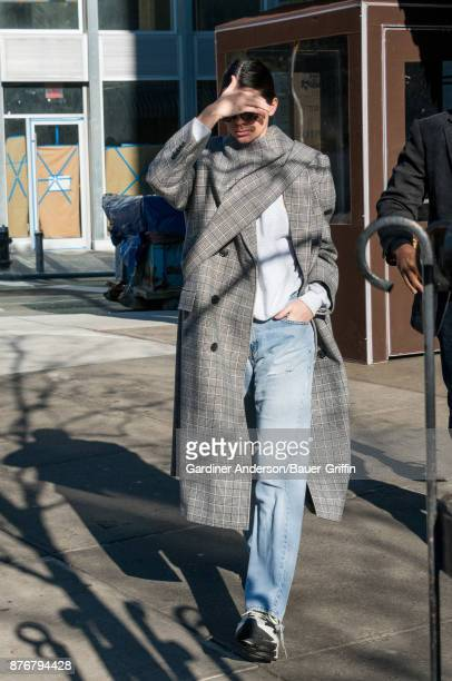 Kendall Jenner is seen on November 19 2017 in New York City
