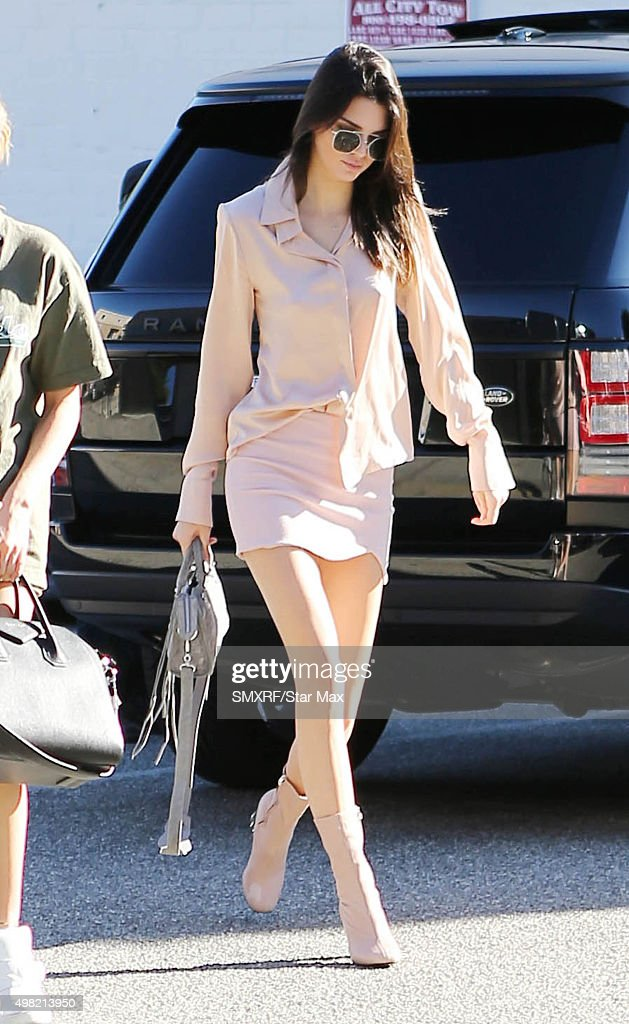 Kendall Jenner is seen on November 21 2015 in Los Angeles California