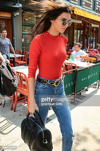 Kendall Jenner is seen on September 02 2015 in New York City