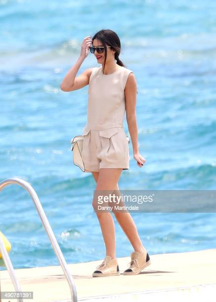 Kendall Jenner is seen on the Martinez Hotel beach on day 1 of the 67th Annual Cannes Film Festival on May 15 2014 in Cannes France