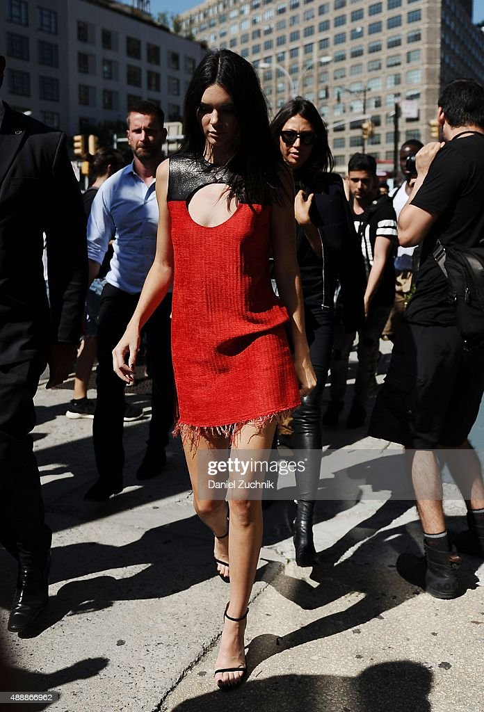 Street Style Spring 2016 New York Fashion Week Getty