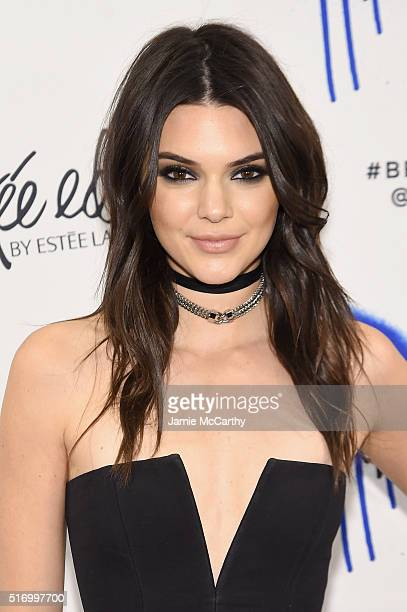 Kendall Jenner kicksoff the launch of the Estee Edit By Estee Lauder at Sephora on March 22 2016 in New York City