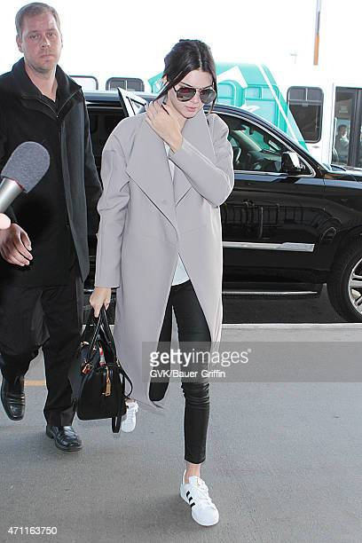 Kendall Jenner seen at LAX on April 25 2015 in Los Angeles California