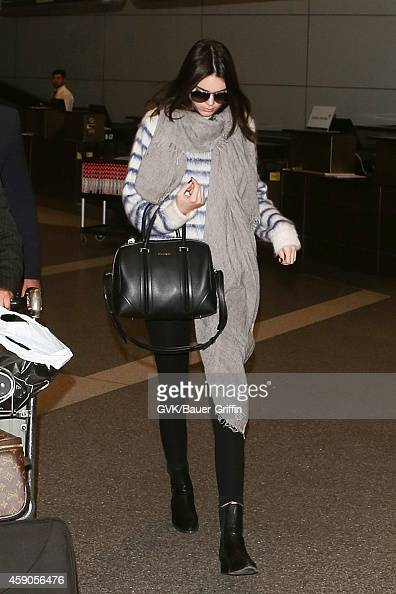 Kendall Jenner seen at LAX on November 15 2014 in Los Angeles California