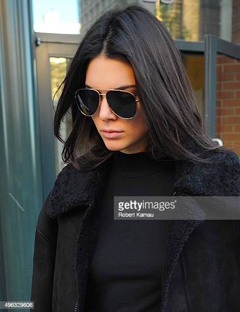 Kendall Jenner seen out on November 8 2015 in New York City
