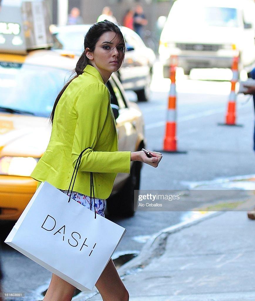 Kendall Jenner sighting on September 11, 2012 in New York City.
