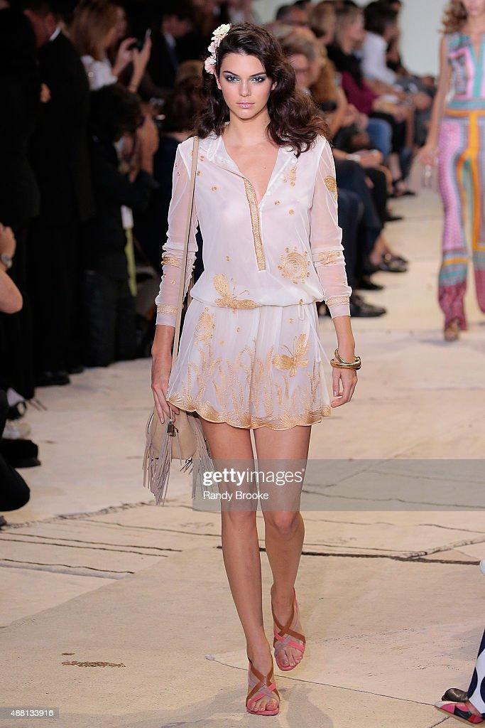 Kendall Jenner walks the runway during the Diane Von Furstenberg Runway Spring 2016 New York Fashion Week at Spring Studios on September 13, 2015 in New York City.