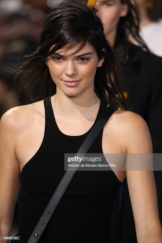 Kendall Jenner walks the runway during the Michael Kors show as a part of Spring 2016 New York Fashion Week at Spring Studios on September 16, 2015 in New York City.