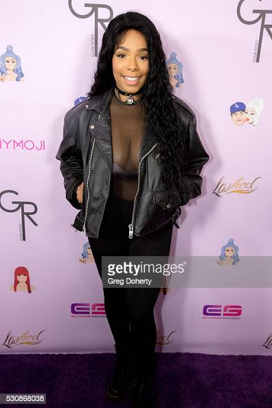 Kendall Lake arrives at the Blac Chyna Birthday Celebration And Unveiling Of Her 'Chymoji' Emoji Collection at the Hard Rock Cafe on May 10 2016 in...