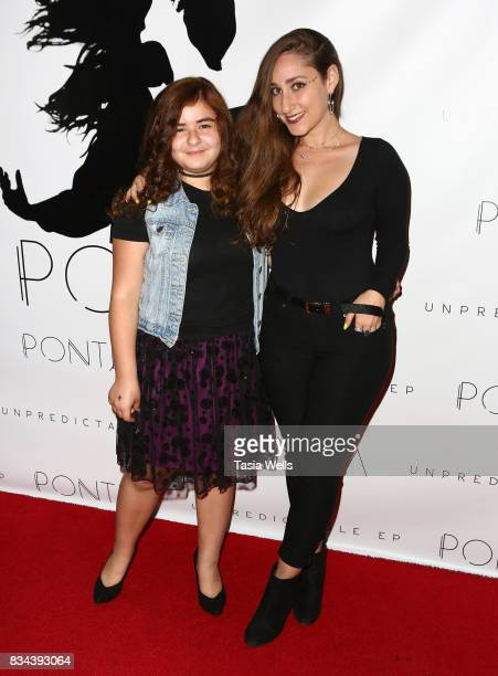 Kendall Monroe and Pontea at the Pontea EP Release Party at The Federal on August 17 2017 in North Hollywood California