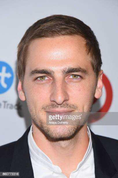 Kendall Schmidt attends the Eva Longoria Foundation Annual Dinner at Four Seasons Hotel Los Angeles at Beverly Hills on October 12 2017 in Los...