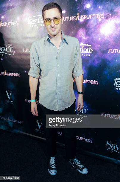 Kendall Schmidt attends the 'Future Disruptors' Premiere at The Comedy Store on June 25 2017 in Los Angeles California