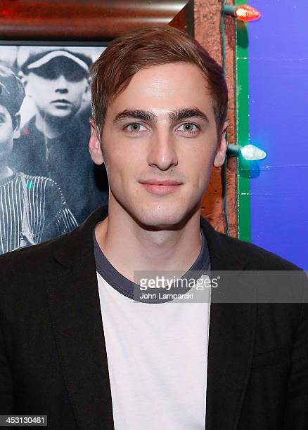 Kendall Schmidt attends the Heffron Drive Winter Tour announcement at Planet Hollywood Times Square on December 2 2013 in New York City