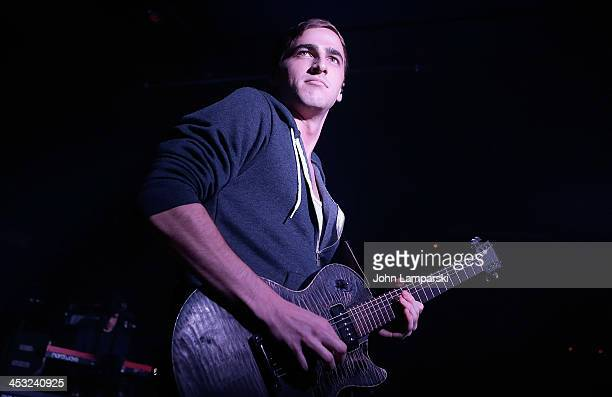 Kendall Schmidt of Heffron Drive performs at Webster Hall on December 2 2013 in New York City