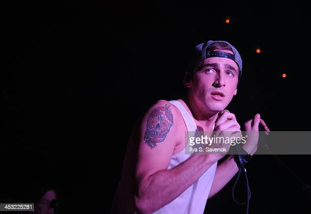 Kendall Schmidt of the band Heffron Drive performs at Webster Hall on December 2 2013 in New York City