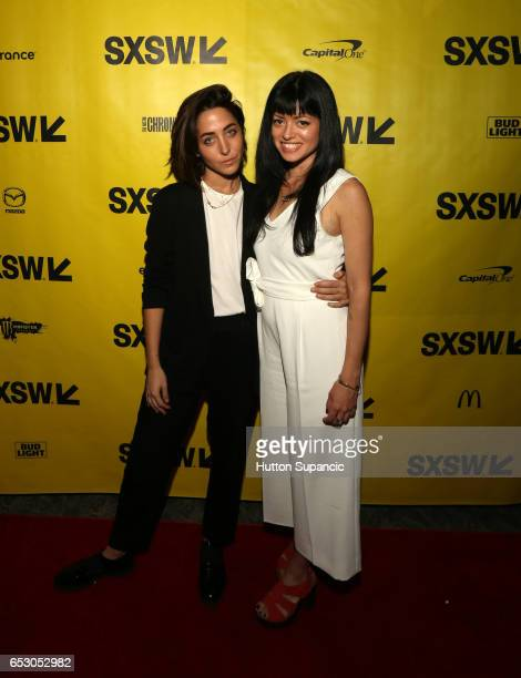 Kendall Tichner and director Natalia Leite attend the premiere of 'MFA' during 2017 SXSW Conference and Festivals at Stateside Theater on March 13...