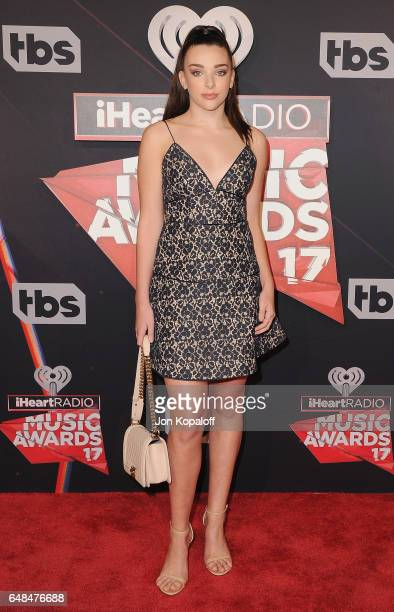 Kendall Vertes arrives at the 2017 iHeartRadio Music Awards at The Forum on March 5 2017 in Inglewood California