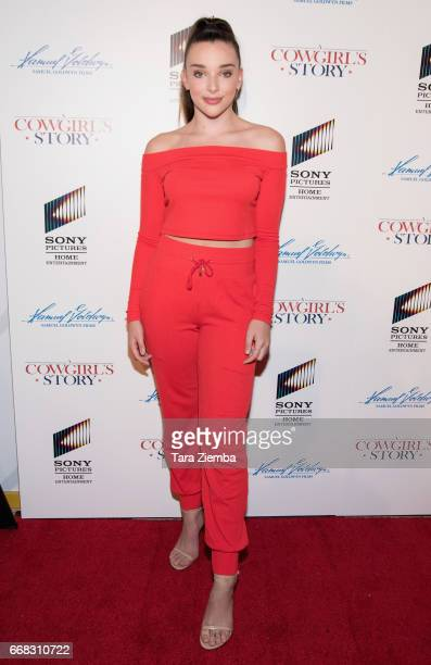 Kendall Vertes arrives to the premiere of Samuel Goldwyn Films' 'A Cowgirl's Story' at Pacific Theatres at The Grove on April 13 2017 in Los Angeles...