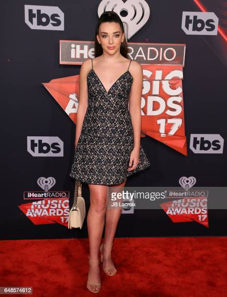 Kendall Vertes attends the 2017 iHeartRadio Music Awards at The Forum on March 5 2017 in Inglewood California