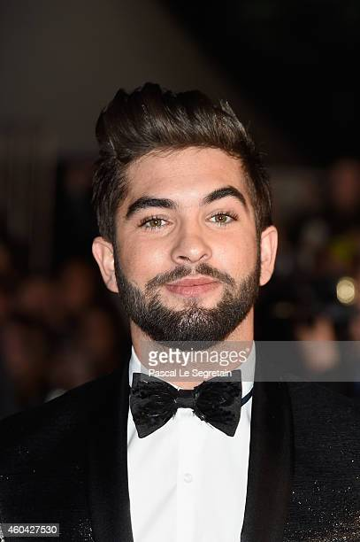 Kendji Girac attends the NRJ Music Awards at Palais des Festivals on December 13 2014 in Cannes France