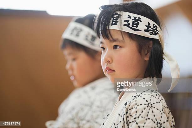 べく剣道の女性の学生