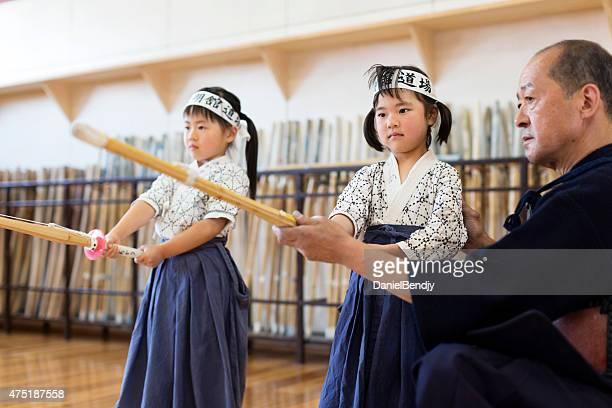 Kendo enseignant & étudiants