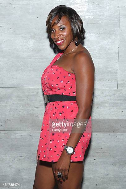 Kendra Brown attends the Charlotte Ronson Fall 2014 Presentation during MercedesBenz Fashion Week Spring 2015 on September 5 2014 in New York City