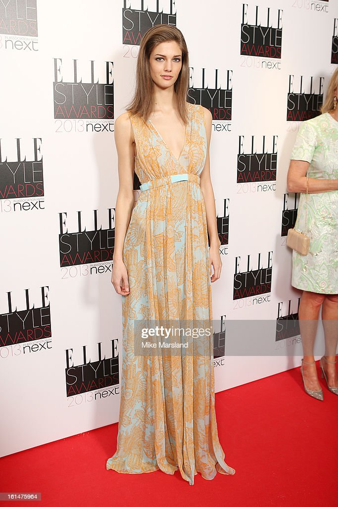 Kendra Spears attends the Elle Style Awards 2013 at The Savoy Hotel on February 11, 2013 in London, England.