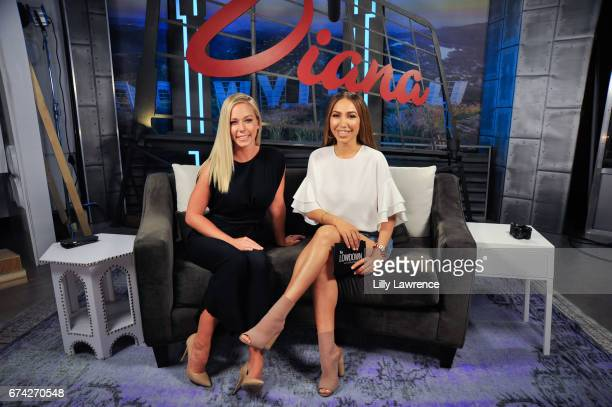 Kendra Wilkinson appears on 'The Lowdown With Diana Madison' on April 27 2017 in Hollywood California