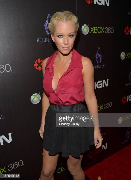 Kendra Wilkinson attends IGN and Capcom's party celebrating the launch of Resident Evil 6 at Lure on September 28 2012 in Hollywood California