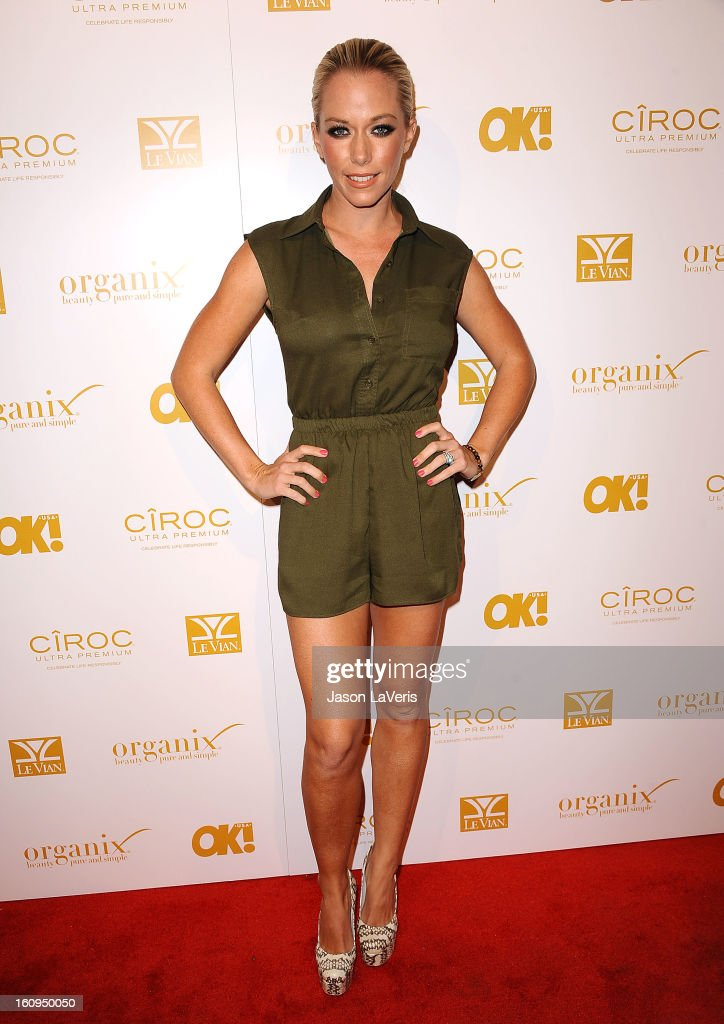 Kendra Wilkinson (hair detail) attends OK! Magazine's pre-Grammy event at Sound on February 7, 2013 in Hollywood, California.