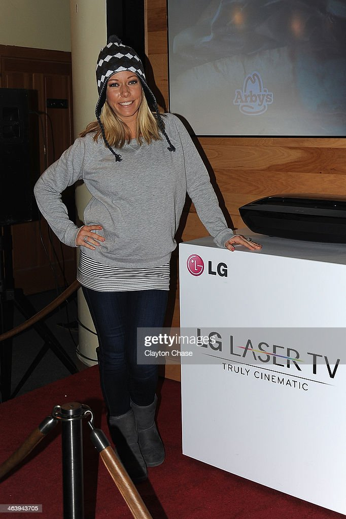 <a gi-track='captionPersonalityLinkClicked' href=/galleries/search?phrase=Kendra+Wilkinson&family=editorial&specificpeople=539064 ng-click='$event.stopPropagation()'>Kendra Wilkinson</a> attends The 10th Anniversary LG Music Lodge At Sundance With Elio Motors And Tervis on January 19, 2014 in Park City, Utah.