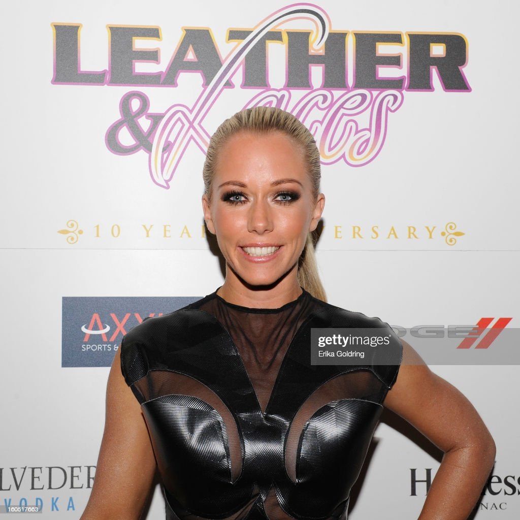 Kendra Wilkinson attends the Tenth Annual Leather & Laces Super Bowl Party on February 1, 2013 in New Orleans, Louisiana.