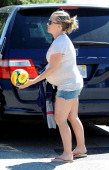 Kendra Wilkinson is seen on April 06 2014 in Los Angeles California