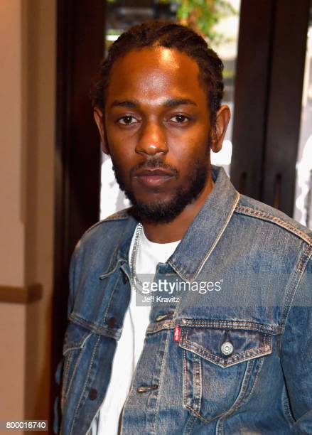 Kendrick Lamar attends HBO's 'The Defiant Ones' premiere at Paramount Studios on June 22 2017 in Los Angeles California