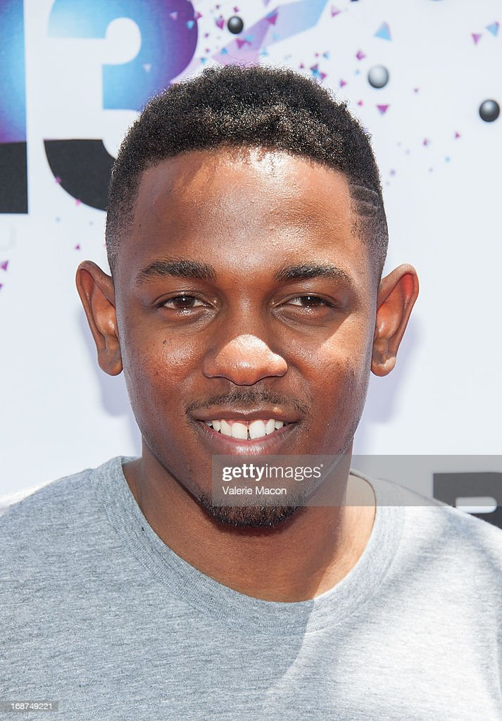 Kendrick Lamar attends the 2013 BET Awards Press Conference at Icon Ultra Lounge on May 14, 2013 in Los Angeles, California.