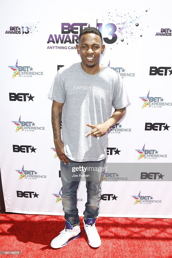 Kendrick Lamar attends the BET Experience At L.A. Live Press Conference at Icon Ultra Lounge on May 14, 2013 in Los Angeles, California.