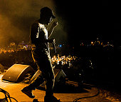 Kendrick Lamar performs during the Bacardi Triangle event on November 1 2014 in Fajardo Puerto Rico The event saw 1862 music fans take on one of the...
